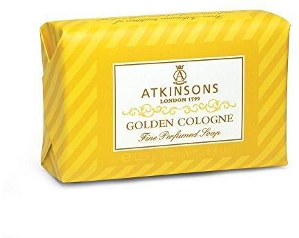 Atkinsons Golden Cologne Perfumed Soap (125g)