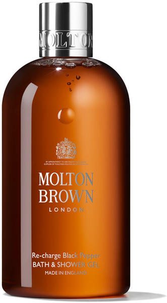 Molton Brown Re-charge Black Pepper Bath & Showergel (300ml)