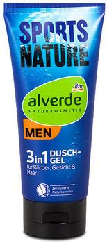 Alverde Men 3 in 1 Duschgel Sports Nature (200 ml)