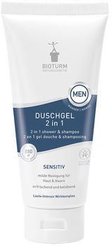 Bioturm Men Duschgel 2 in 1 Sensitiv (200 ml)