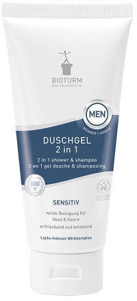 Bioturm Men Duschgel 2 in 1 Sensitiv (200 ml)
