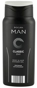 Biocura Man Classic 2 in 1 Body & Hair Shower Gel (300 ml)