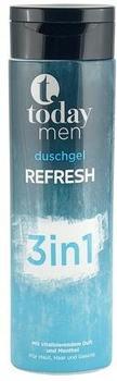 Today Men Duschgel Refresh 3 in 1 (300 ml)