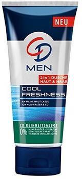 CD Men Cool Freshness 2-in-1 Dusche Haut & Haar (200 ml)