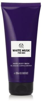 White Musk For Men Hair & Body Wash (200 ml)