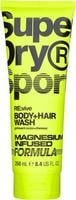 Super Dry Sport Re:vive Body+Hair Wash Magnesium Infused (250 ml)