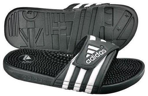 Adidas Adissage black/white (078260)