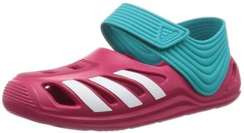 Adidas ZSandals bold pink/ftwr white/shock green