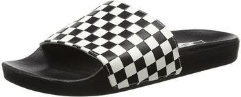 Vans Mens Slide-On checkerboard white