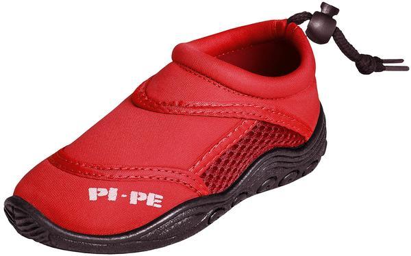 Pi-Pe Watersports Badeschuh Active Aqua Shoes Junior red
