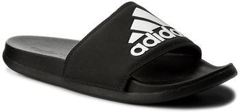 Adidas Adilette Cloudfoam Plus Logo Slides core black/core black/ftwr white