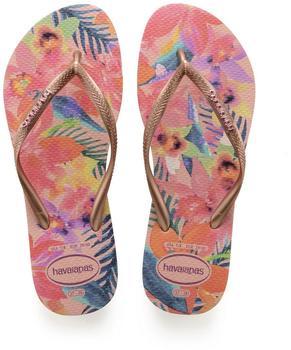 Havaianas Slim Tropical ballet rose