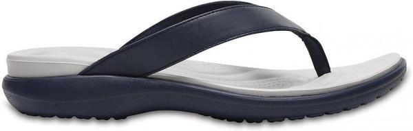 Crocs Women's Capri V Flip navy/pearl white