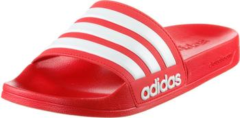 Adidas Cloudfoam Adilette Slide red