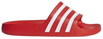 Adidas Adilette Aqua Slides active red/ftwr white/active red