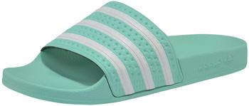 Adidas Adilette Slipper W clear mint/clear mint/ftwr white