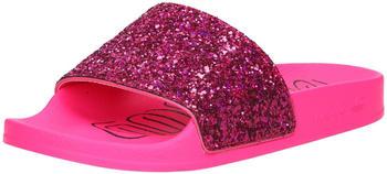 Adidas Adilette Slipper W Glitter shock pink/shock pink/core black