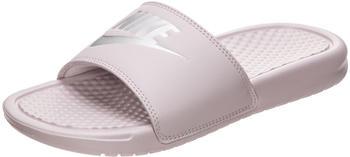 Nike Benassi JDI Women particle rose/metallic silver