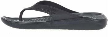 Crocs LiteRide Flip black/slate grey