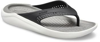 crocs-literide-flip-black-white