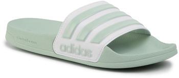 Adidas Shower Adilette Damen green tint/cloud white/green tint