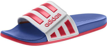 Adidas Adilette Comfort ADJ (EG1346) ftwr white/scarlet/team royal blue