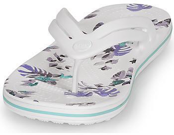 Crocs Crocband (206101) white/tropical