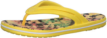 Crocs Crocband Tie-Dye Mania Flip (206394) sunshine