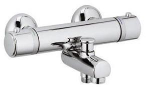 Kludi Objekta Mix New Thermostat-Wafü- und Brausearmatur (Chrom, 352600538)