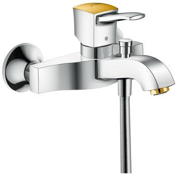 HANSGROHE Metropol Classic Einhebel-Wannenmischer Aufputz chrom/gold 31340090