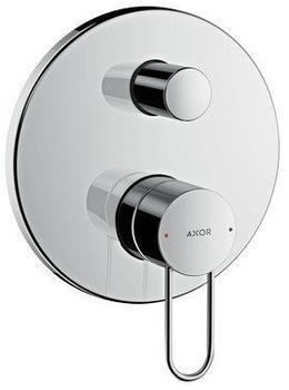 HANSGROHE Wannenmischer Unterputz Axor Uno F-Set Bügelgriff nickel gebürstet 38428820