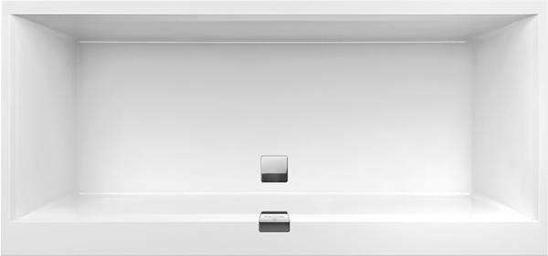 Villeroy & Boch Squaro Edge 12 180 x 80 cm weiß alpin (UBQ180SQE2DV-01)