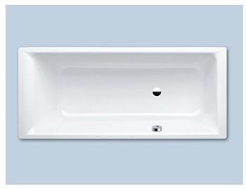 Kaldewei Puro 657 Rechteck-Badewanne m. seitlichem Überlauf L: 180 B: 80 cm pergamon