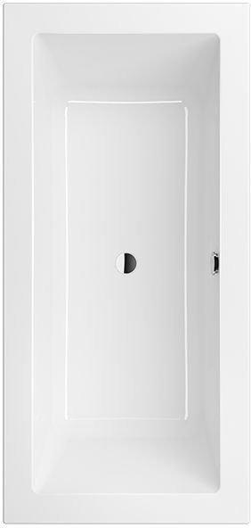 Villeroy & Boch Legato Duo 190 x 90 cm weiß alpin (UBA199LEG2V-01)