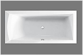 Hausmarke Acryl Rechteckbadewanne 75 x 170 cm (AB299) rechts