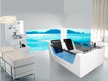 Home Deluxe Atlantik XL Badewanne 120 x 180 cm