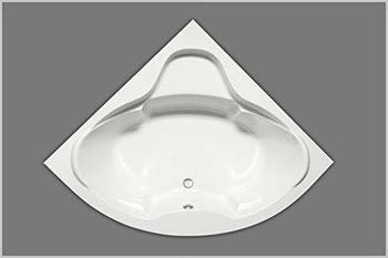 Hausmarke Eckbadewanne Acryl 140 weiß 140x140cm x45cm
