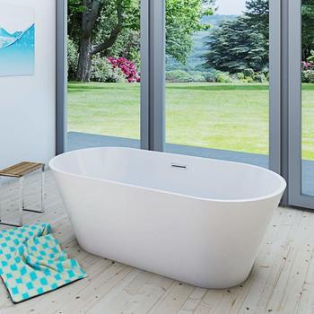 AcquaVapore freistehende Badewanne 80 x 170 cm (FSW01-170-EA)