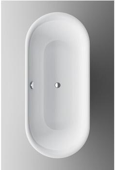 Bette Lux Oval Silhouette freistehende Badewanne 80 x 180 cm (3466-000CFXXS)