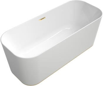 Villeroy & Boch VB BW Finion Ventil Überlauf Design-Ring Emotion-Funktion Champagne White Alpin