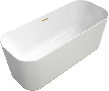Villeroy & Boch VB BW Finion Ventil Überlauf Design-Ring Emotion-Funktion Champagne Star White