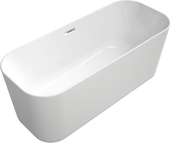 Villeroy & Boch VB BW Finion Ventil Überlauf Design-Ring Emotion-Funktion verchromt Star White