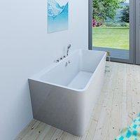 AcquaVapore freistehende Badewanne 80 x 170 cm (FSW05-170-B-EA)