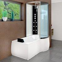AcquaVapore DTP8050-A004L Wanne Duschtempel Badewanne Dusche Duschkabine 170x98