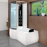 AcquaVapore DTP8050-A004R Wanne Duschtempel Badewanne Dusche Duschkabine 98x170