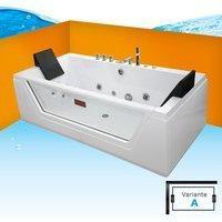 AcquaVapore A1813RA Whirlpoolbadewanne 90 x 185 cm (A1813R-SC-A-EA)