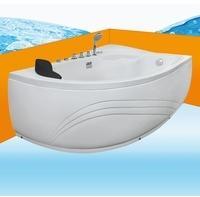 AcquaVapore Eckwanne Whirlpool Raumsparwunder Pool Badewanne A617-B-ALL 160x100