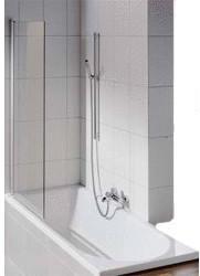 Bette Ocean Rechteck-Badewanne L: 170 B: 75 H: 45 cm, Überlauf vorne weiß, mit BetteGlasur Plus