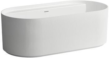 laufen-sonar-badewanne-freistehend-1600x815x535mm-2-rueckenschraegen-mit-oberflaechentextur-aussen-weiss-matt