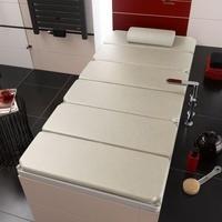 Kaldewei Relaxliege auf Badewanne L: 200 B: 100 cm beige 689710050000